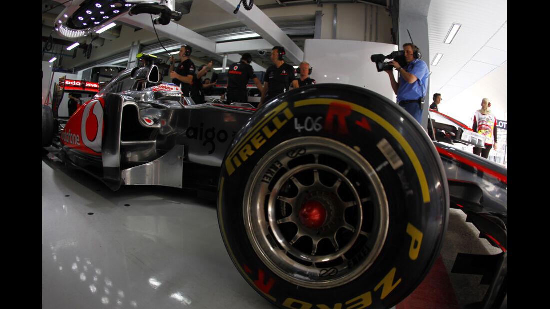 Jenson Button Pirelli 2011