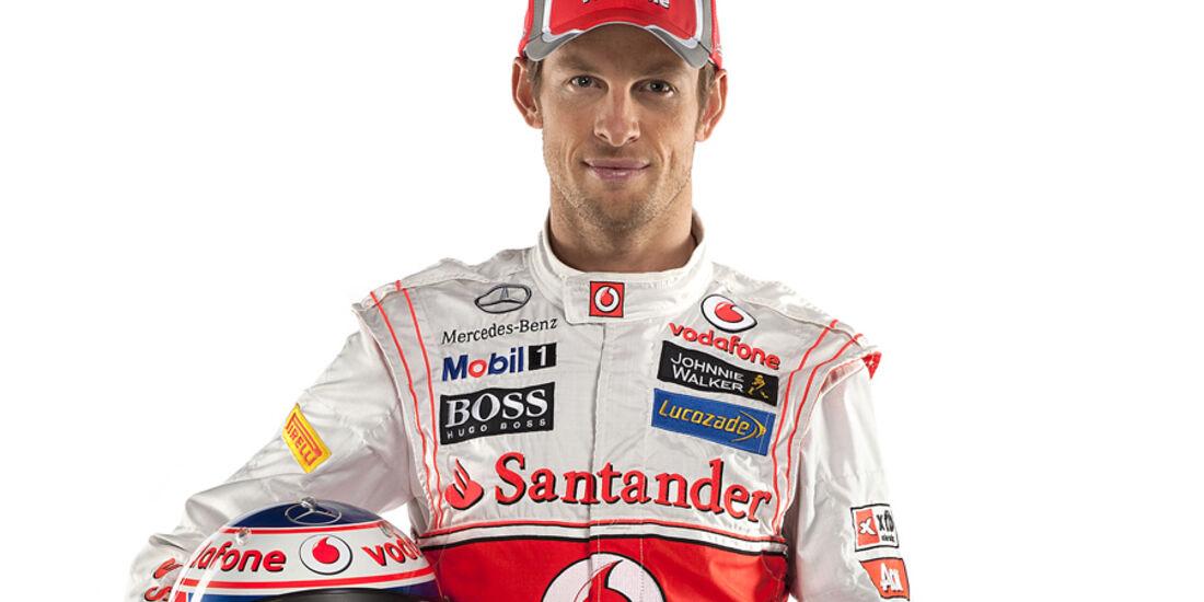 Jenson Button Porträt 2012