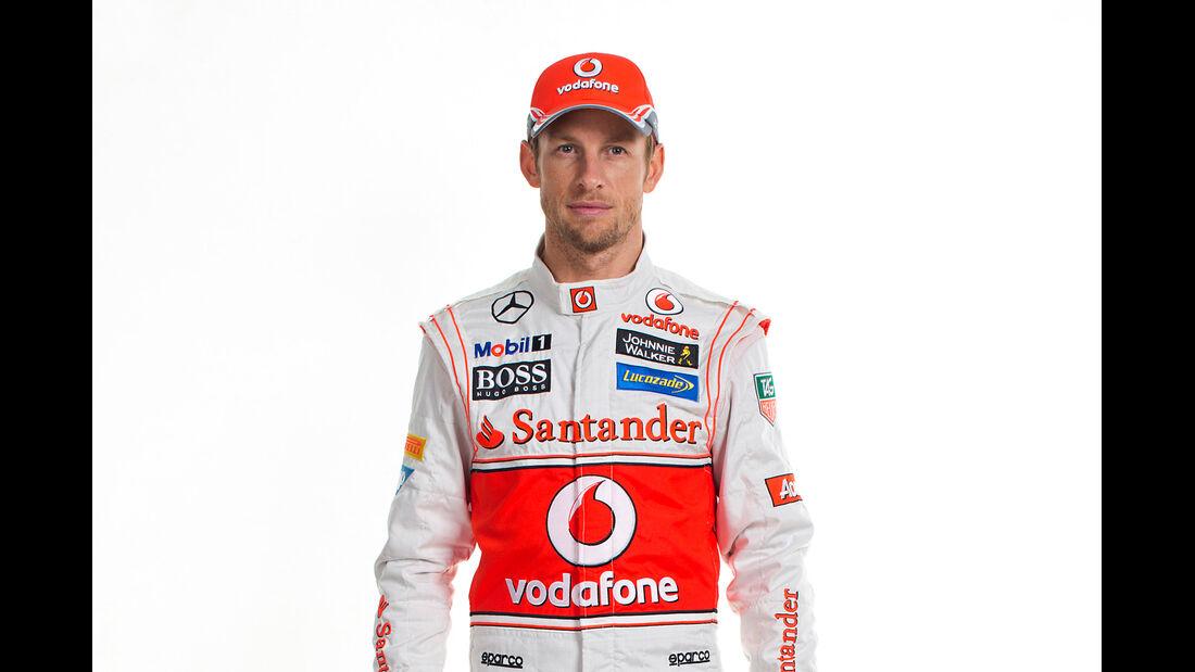 Jenson Button Porträt 2013