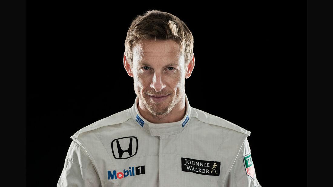 Jenson Button - Porträt - Formel 1 - 2015