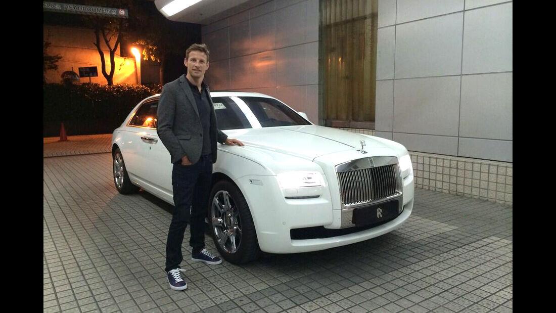 Jenson Button - Rolls Royce