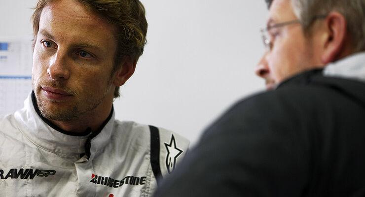 Jenson Button & Ross Brawn