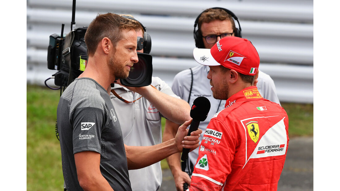 Jenson Button & Sebastian Vettel - Formel 1 - GP Japan - Suzuka - 7. Oktober 2017