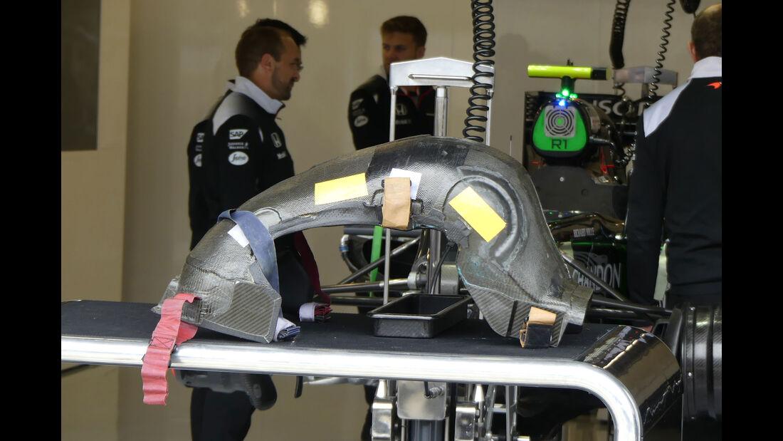 Jenson Button - Sitz - McLaren -  GP England - Silverstone - Formel 1 - Freitag - 8.7.2016