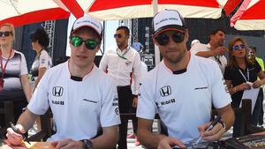 Jenson Button & Stoffel Vandoorne