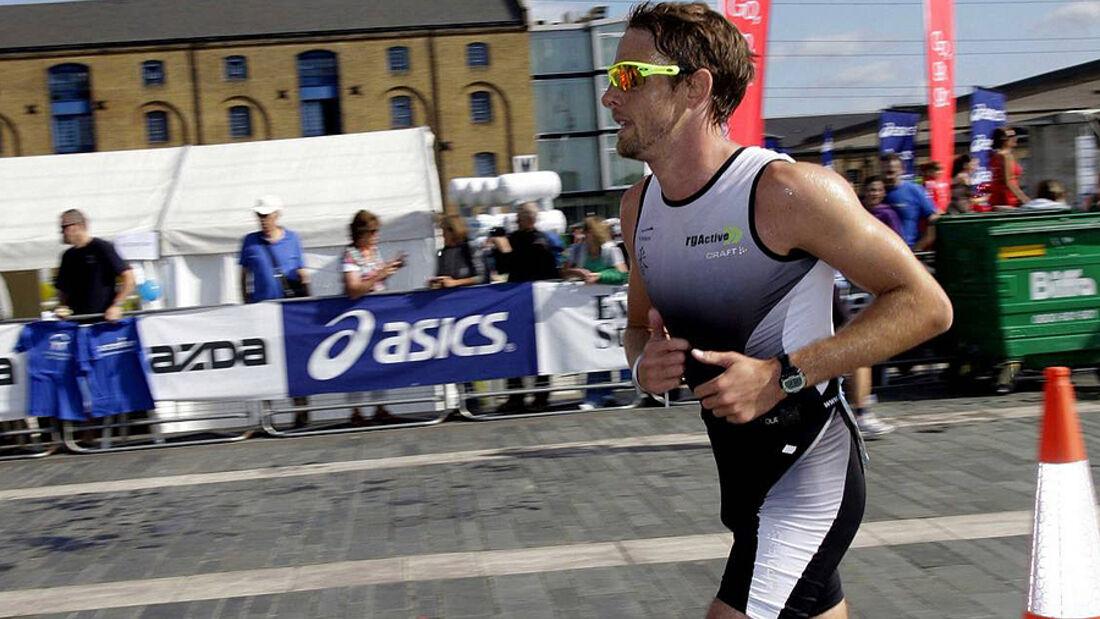 Jenson Button Triathlon London