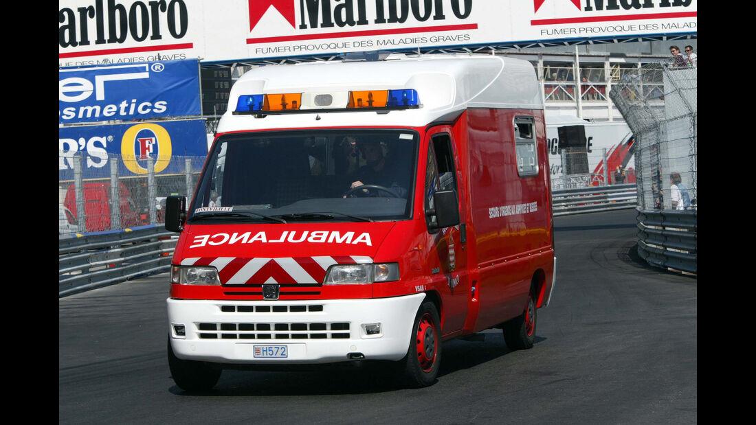 Jenson Button - Unfall GP Monaco 2003