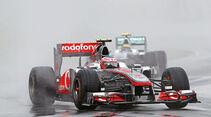 Jenson Button beim GP Kanade