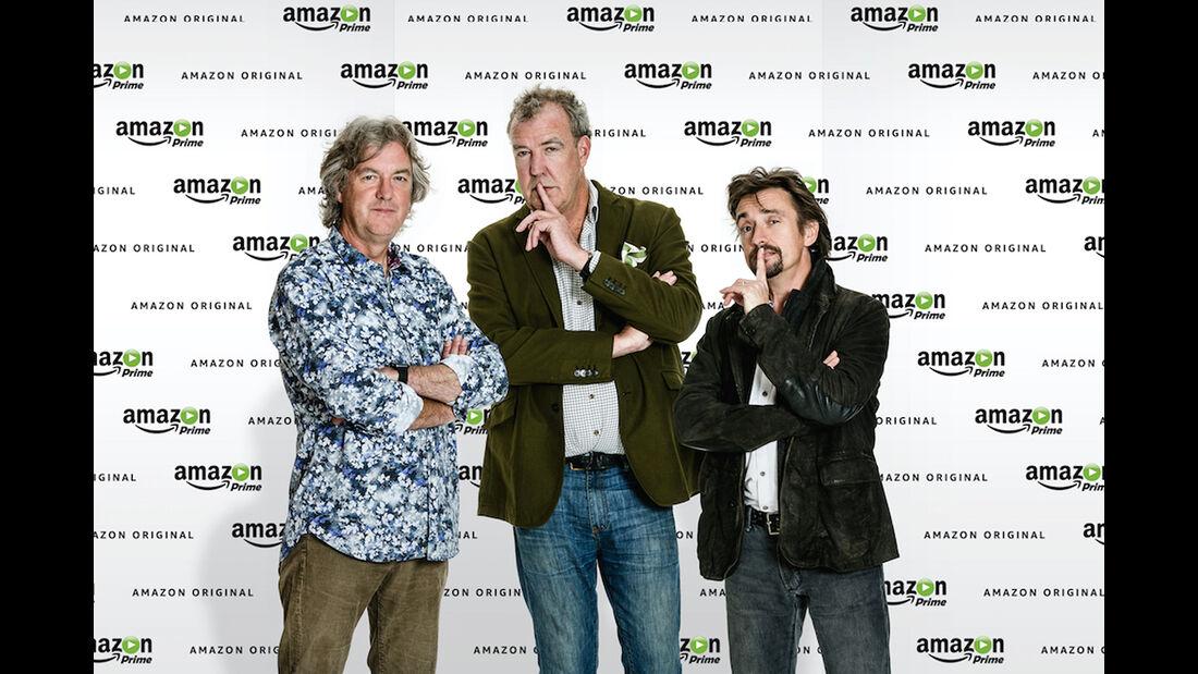 Jeremy Clarkson, Richard Hammond, James May, Amazon Prime