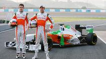 Jerez Formel 1 Test 2011 Donnerstag