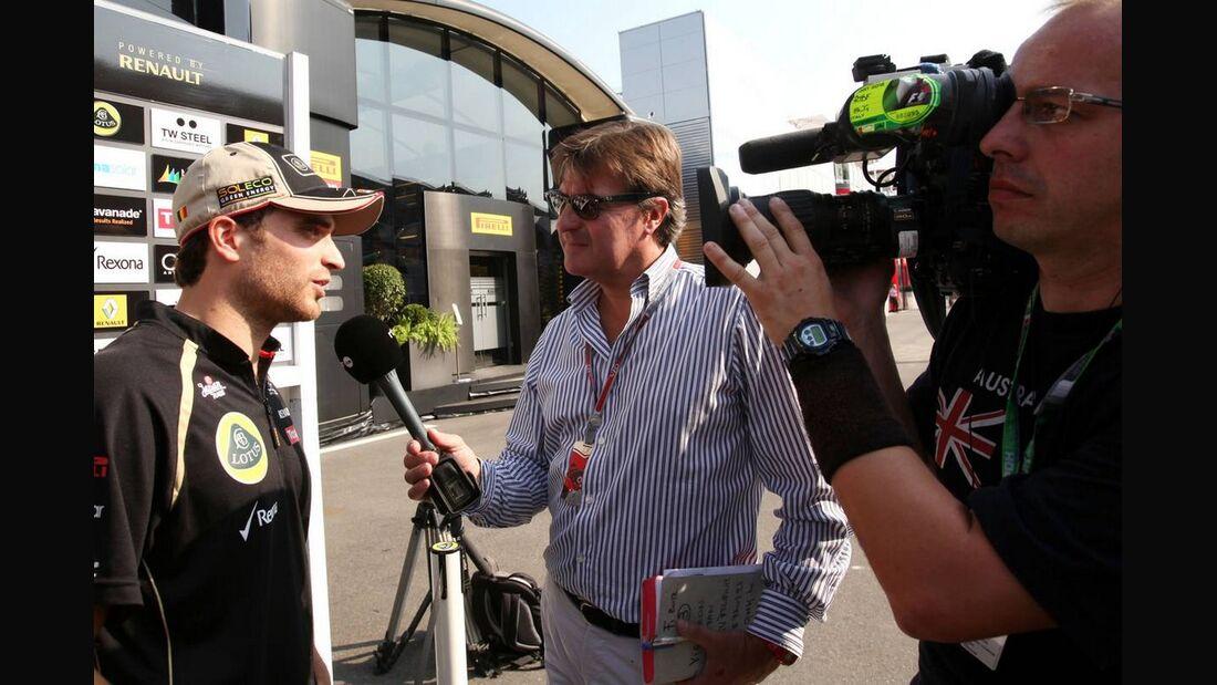 Jerome D'Ambrosio - Formel 1 - GP Italien - 07. September 2012