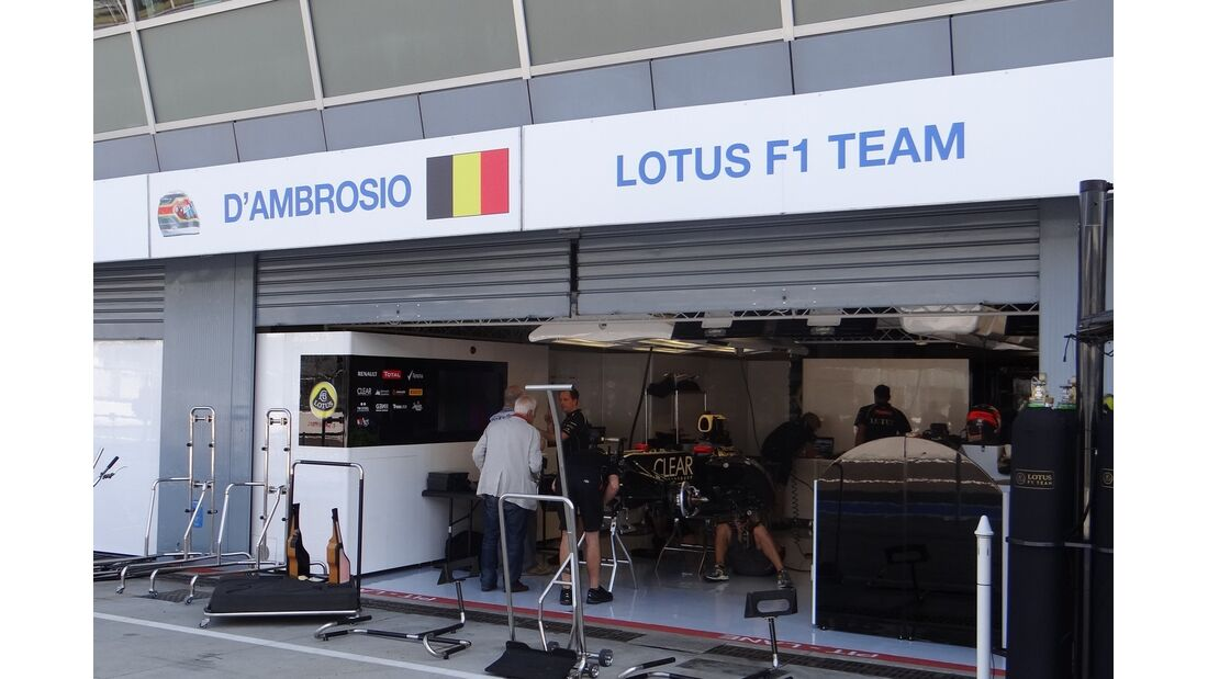 Jerome D'Ambrosio - Formel 1 - GP Italien - 6. September 2012
