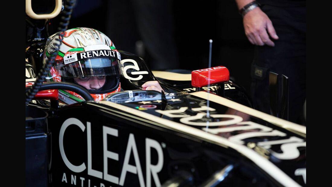Jerome D'Ambrosio - Formel 1 - GP Italien - 7. September 2012