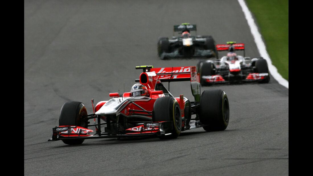 Jerome D'Ambrosio GP Belgien 2011