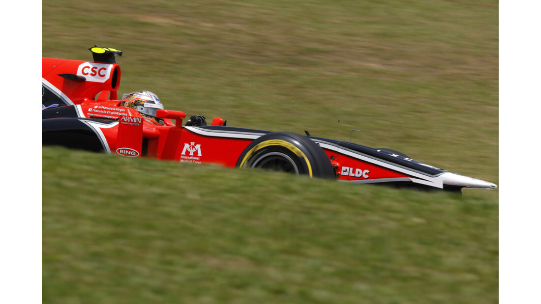 Jerome D'Ambrosio GP Brasilien 2011