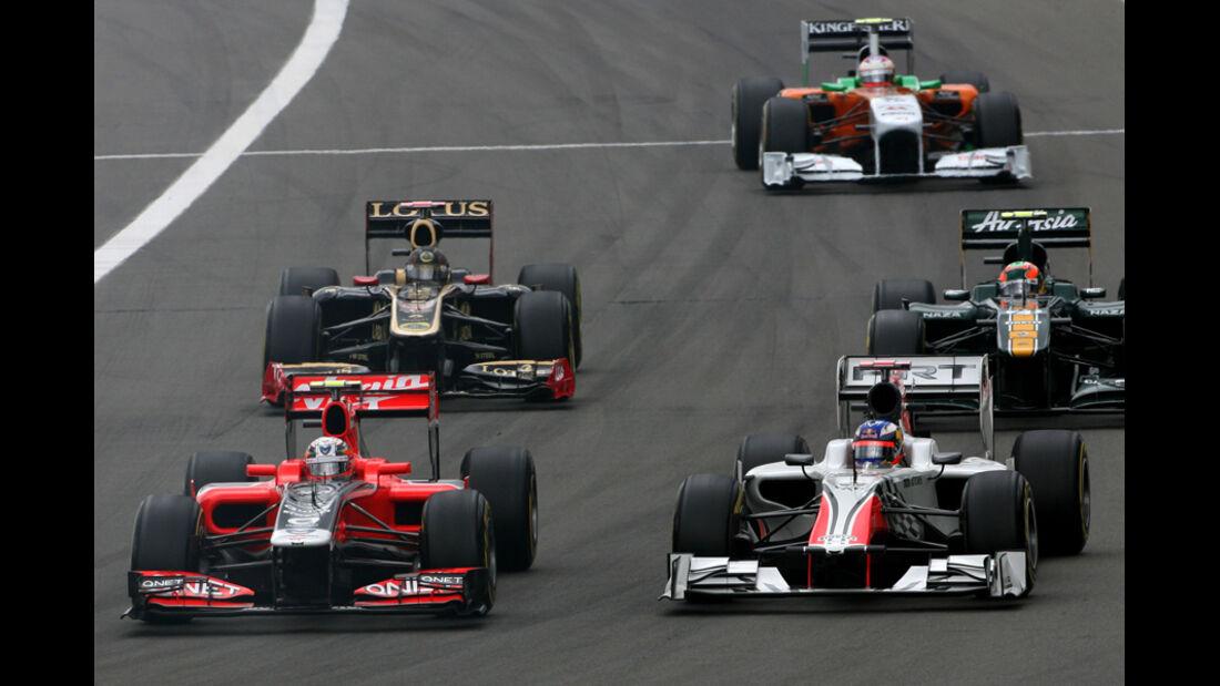 Jerome D'Ambrosio GP Deutschland 2011