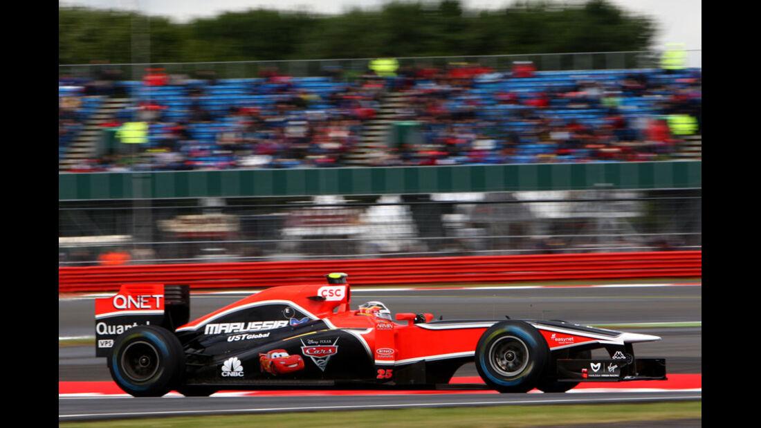 Jerome D'Ambrosio - GP England - Training - Silverstone - 8. Juli 2011