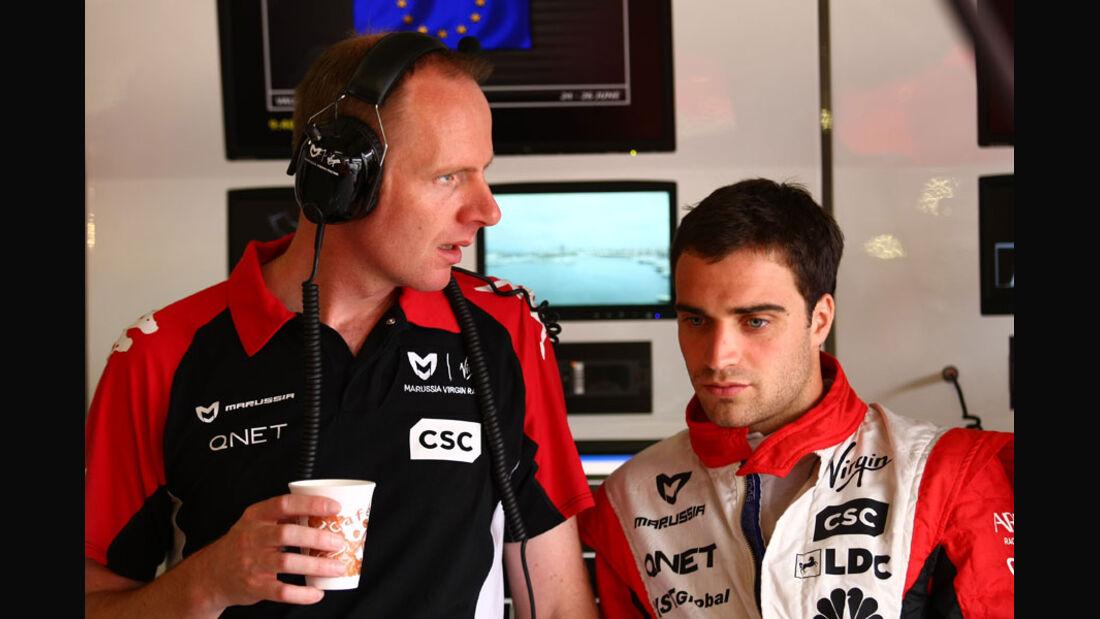 Jerome D'Ambrosio - GP Europa Valencia 2011