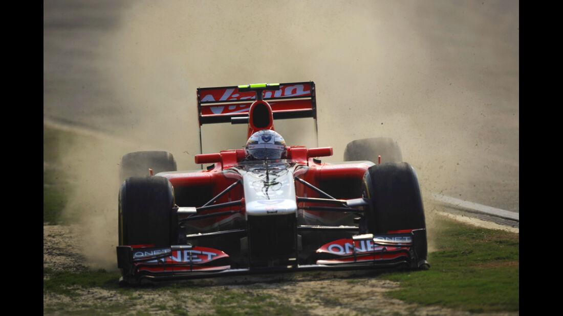 Jerome D'Ambrosio GP Indien 2011