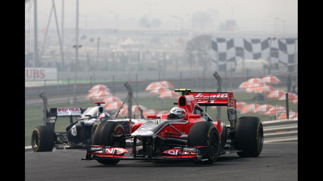 Jerome D'Ambrosio - GP Indien - Training - 28.10.2011