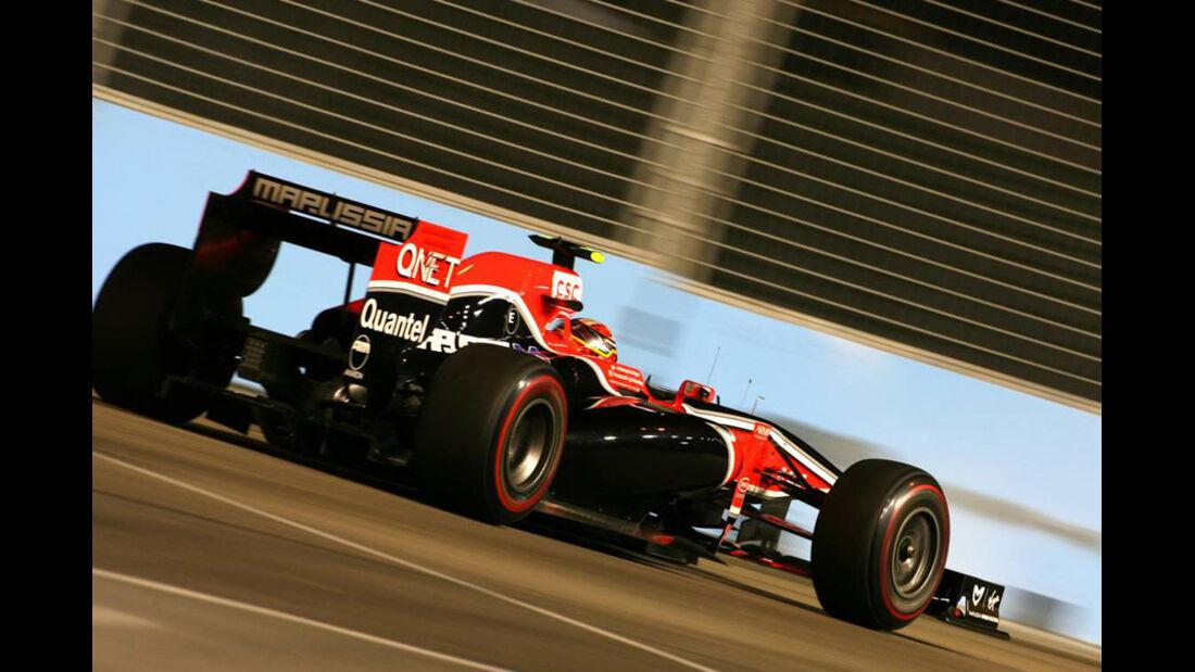 Jerome D'Ambrosio GP Singapur 2011