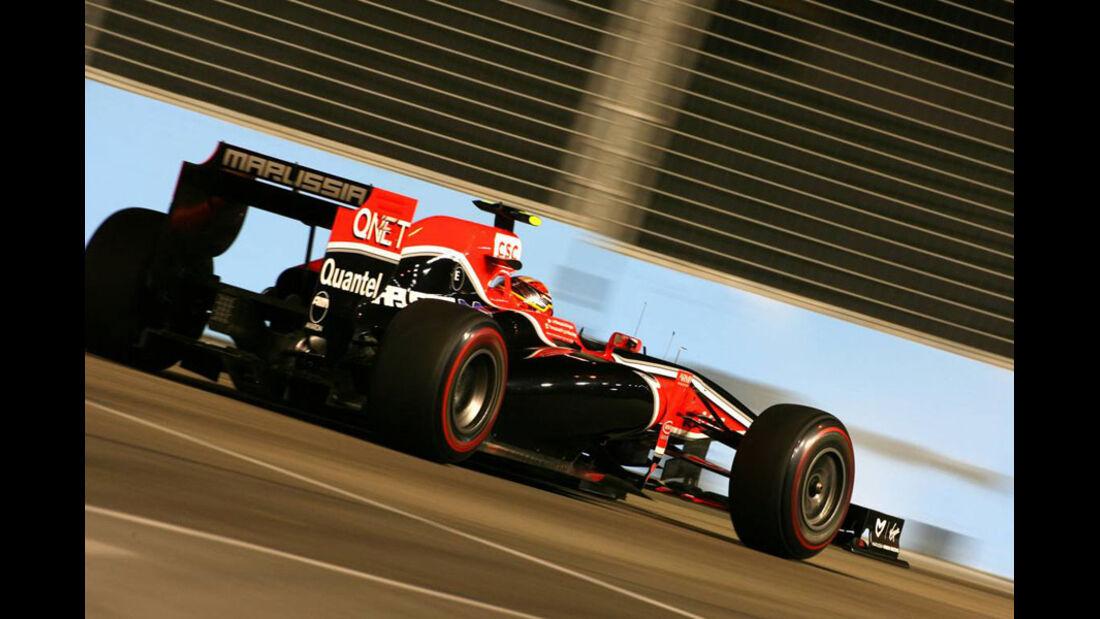 Jerome D'Ambrosio - GP Singapur - 24. September 2011