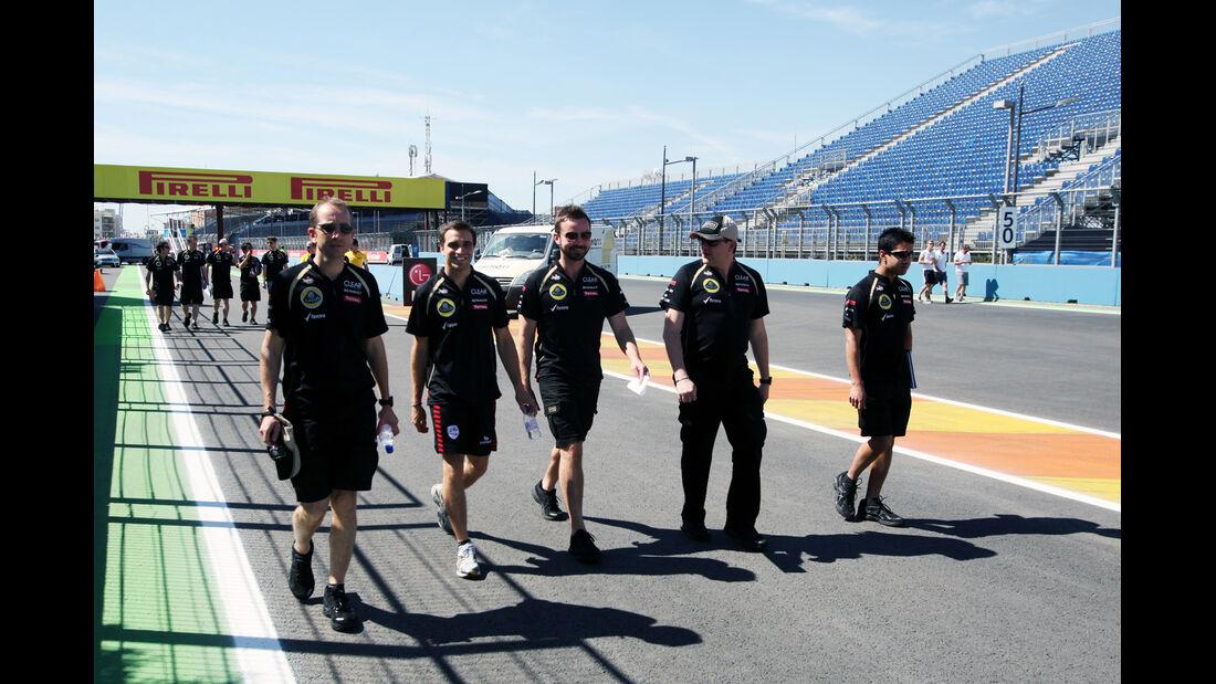 Jerome D'Ambrosio - Lotus - GP Europa - Valencia - 21. Juni 2012