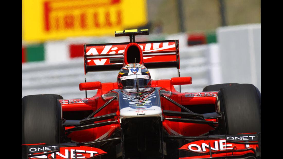 Jerome D'Ambrosio Virgin GP Japan 2011