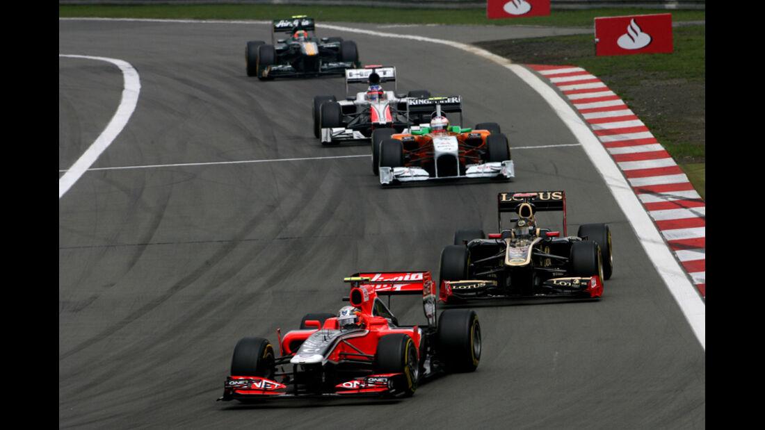 Jerome D'ambrosio GP Deutschland 2011 Noten