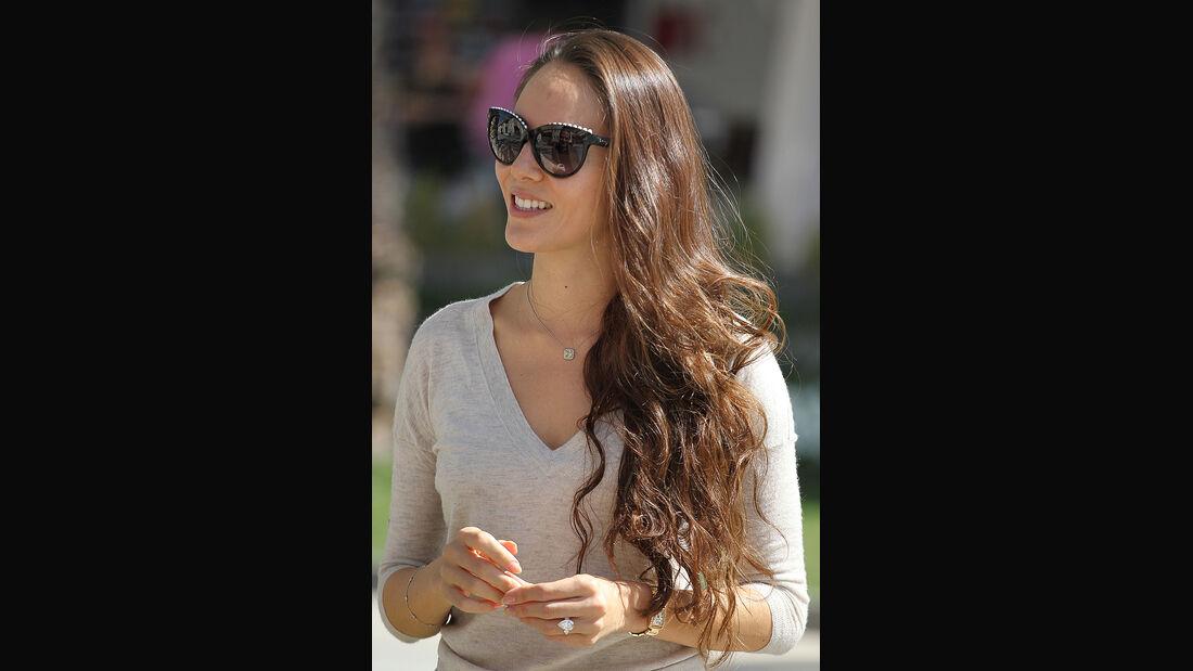 Jessica Michibata -  Formel 1- Bahrain - Test - 21. Februar 2014