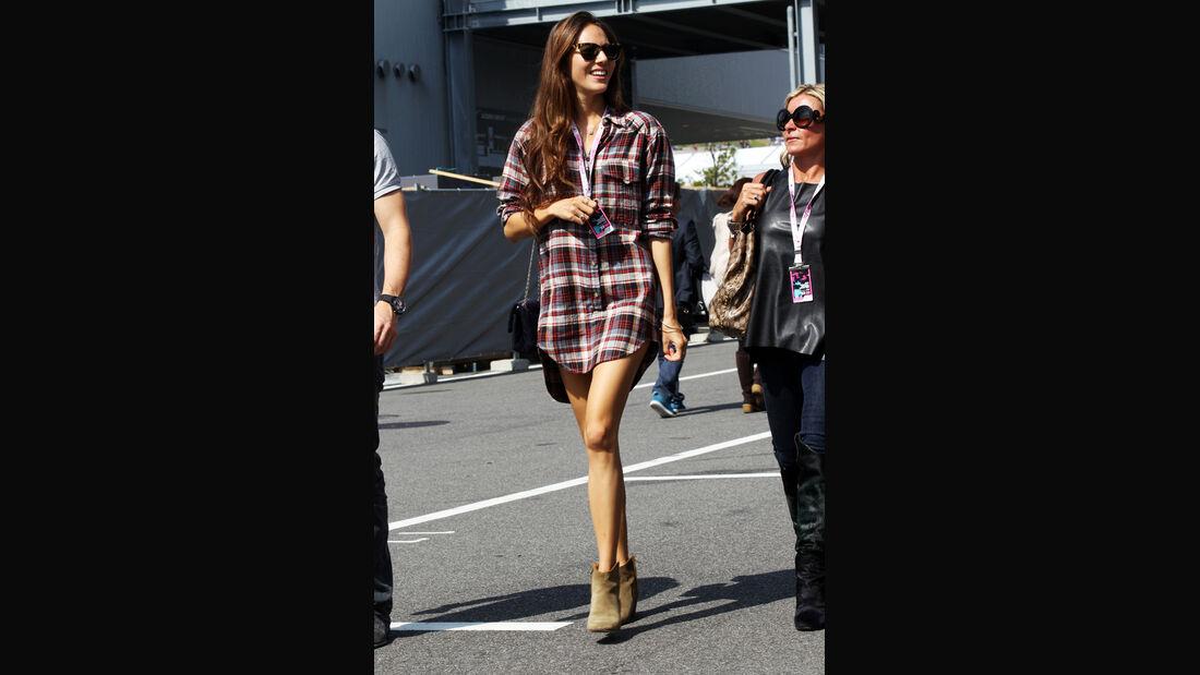 Jessica Michibata - Formel 1 - GP Japan - Suzuka - 6. Oktober 2012