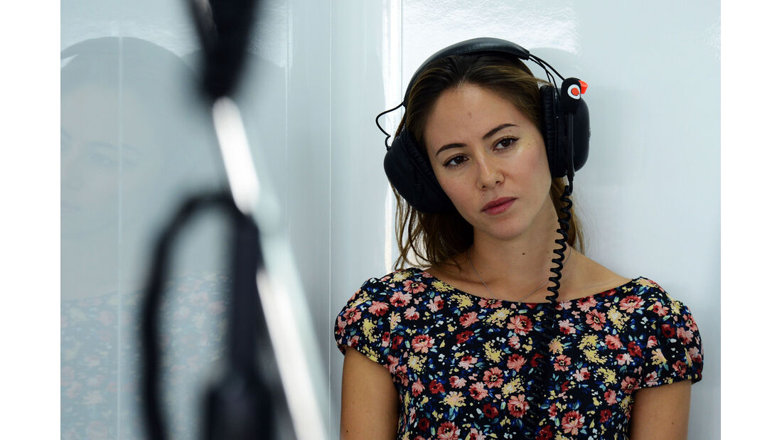 Jessica Michibata - Formel 1 - GP Korea - 4. Oktober 2013