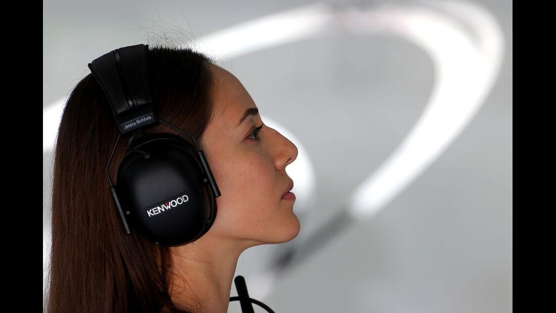 Jessica Michibata (Freundin von Jenson Button) - Formel 1 - GP Malaysia - Sepang - 28. März 2014
