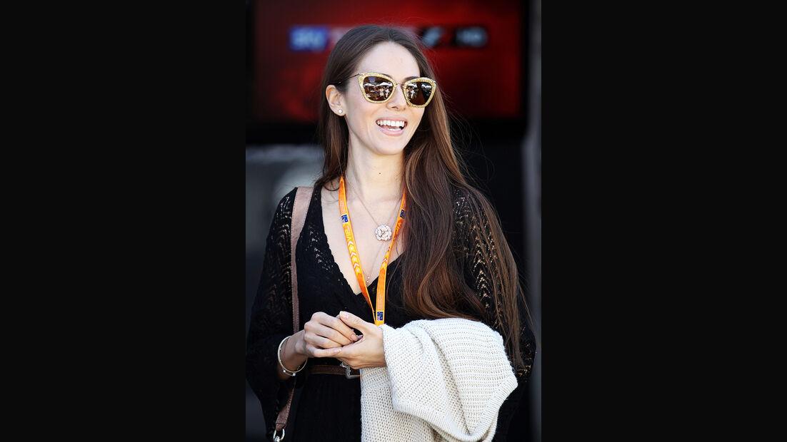 Jessica Michibata - Freundin von Jenson Button - GP Australien
