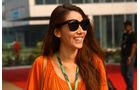Jessica Michibata - GP Indien - Training - 28.10.2011