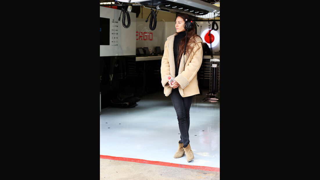 Jessica Michibata, McLaren, Formel 1-Test, Barcelona, 21. Februar 2013
