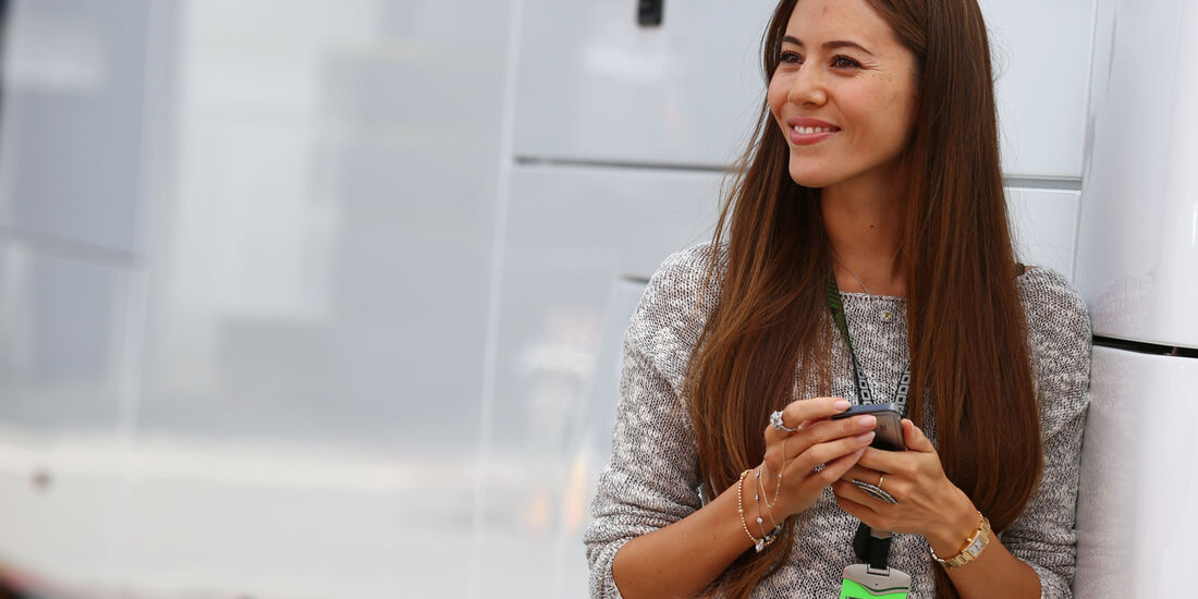 Jessica Mitchibata - Formel 1 - GP Deutschland - 4. Juli 2013