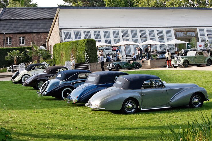 Jewels in the Park, Classic Days Schloss Dyck