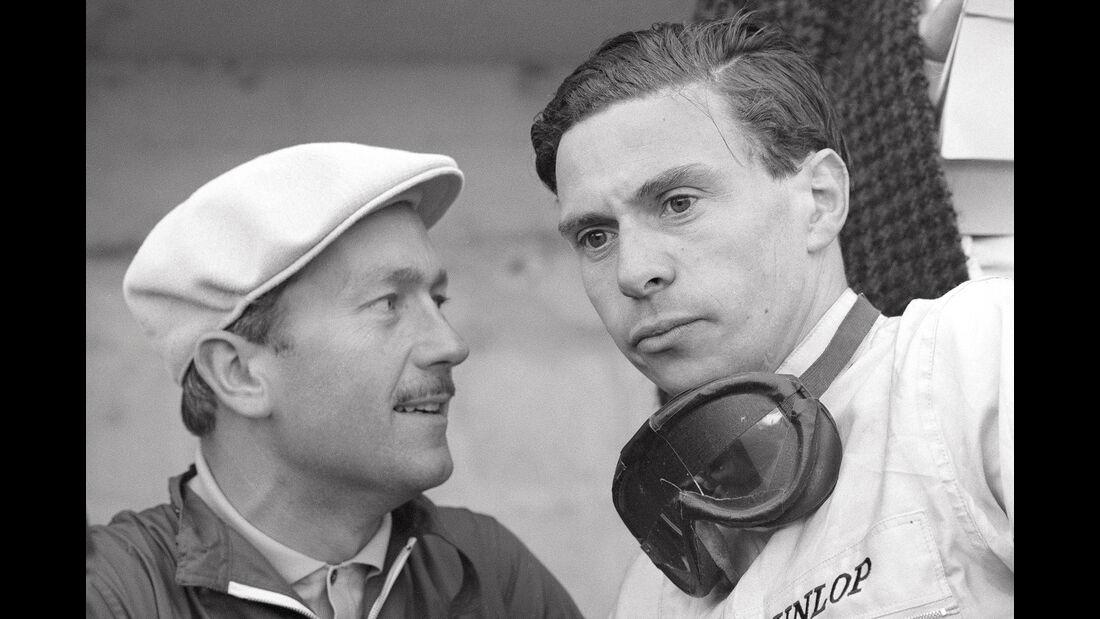 Jim Clark & Colin Chapman- Formel 1 - Historie