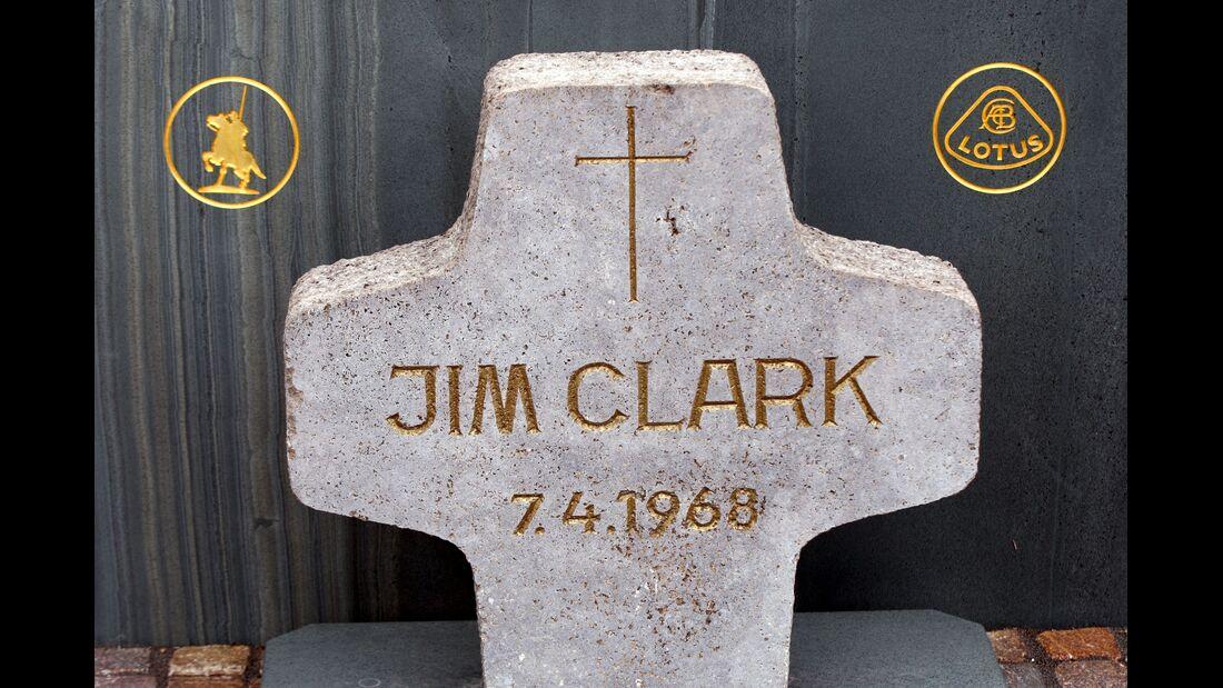 Jim Clark Gedenkstein - Hockenheim