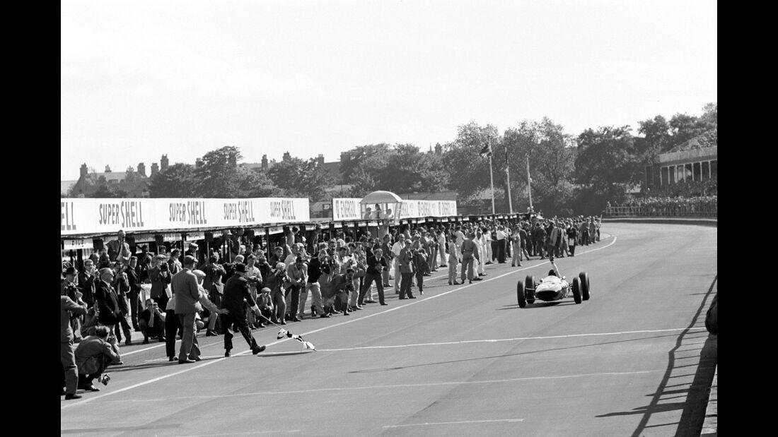 Jim Clark - Lotus 25 - Aintree 1962