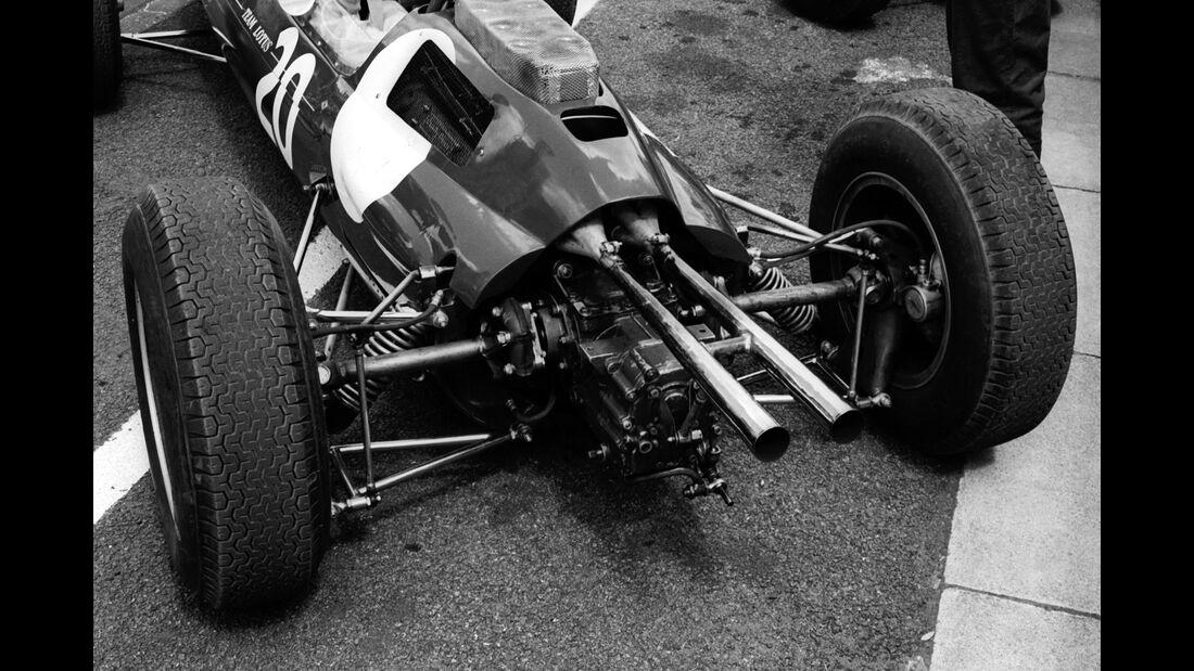 Jim Clark - Lotus 25 - GP England 1962 - Aintree
