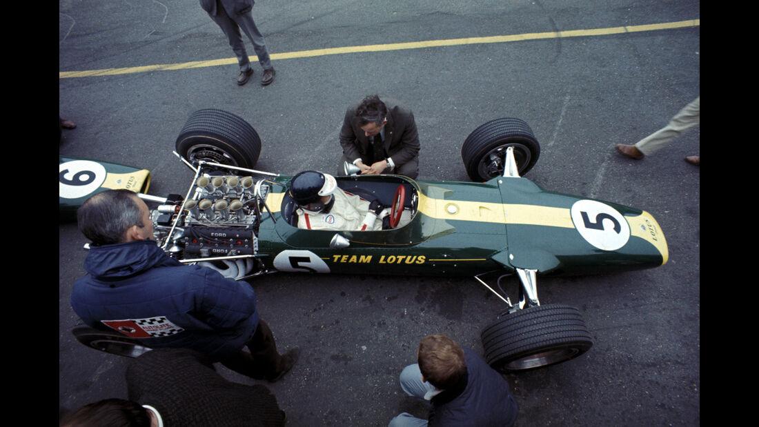 Jim Clark - Lotus 49 - Zandvoort 1967