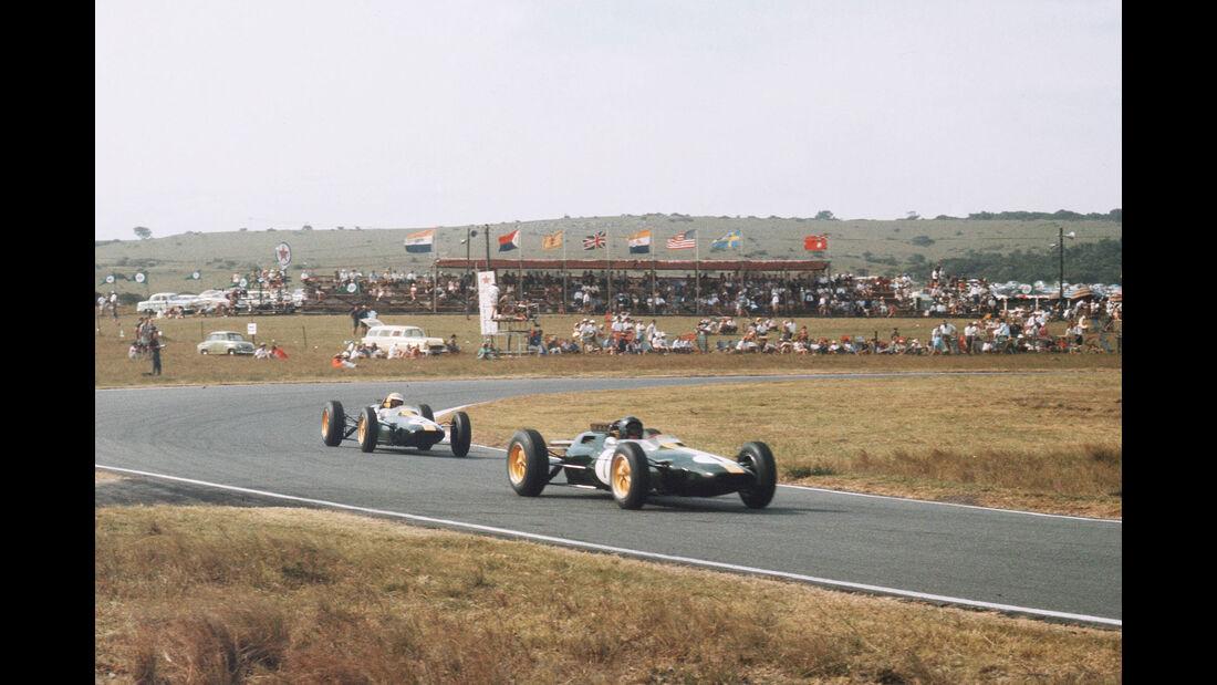 Jim Clark - Trevor Taylor - Lotus 25 - GP Südafrika 1963 - East London