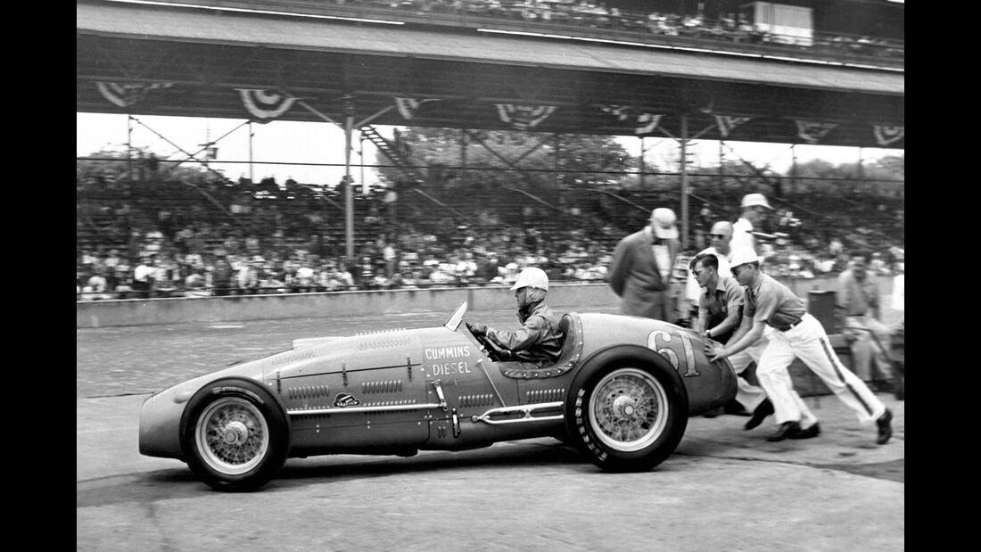Jimmy Jackson - Indy 500 - 1950 - Motorsport