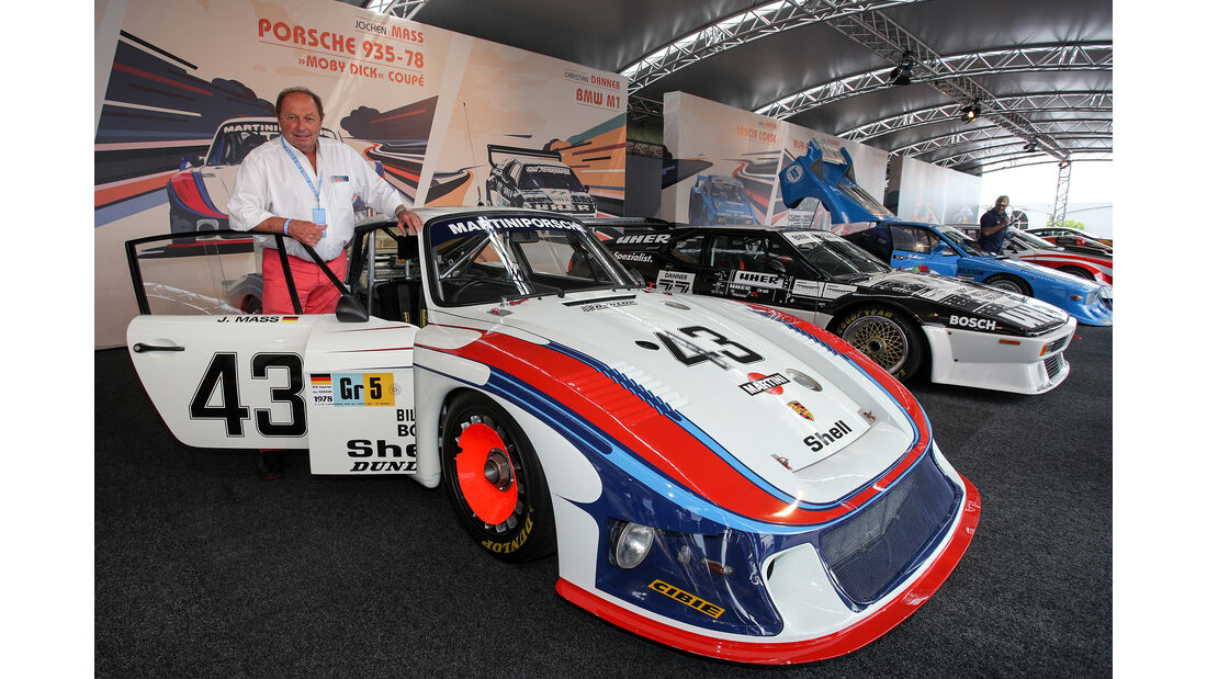 Jochen Maass - Porsche 935 - Legenden-Parade - GP Österreich 2018