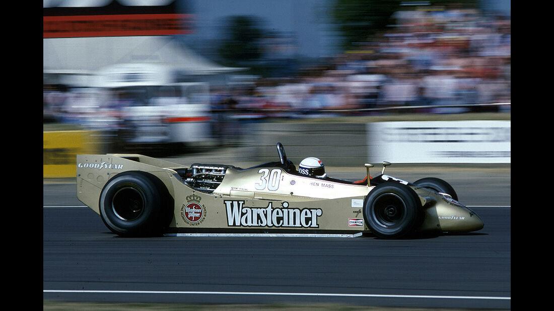 Jochen Mass, Arrows-Ford A2