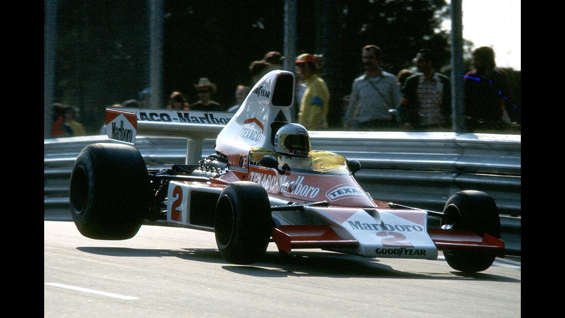 Jochen Mass - McLaren Ford M23