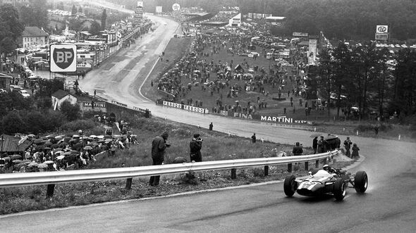 Jochen Rindt - Cooper T81 - GP Belgien 1966 - Spa