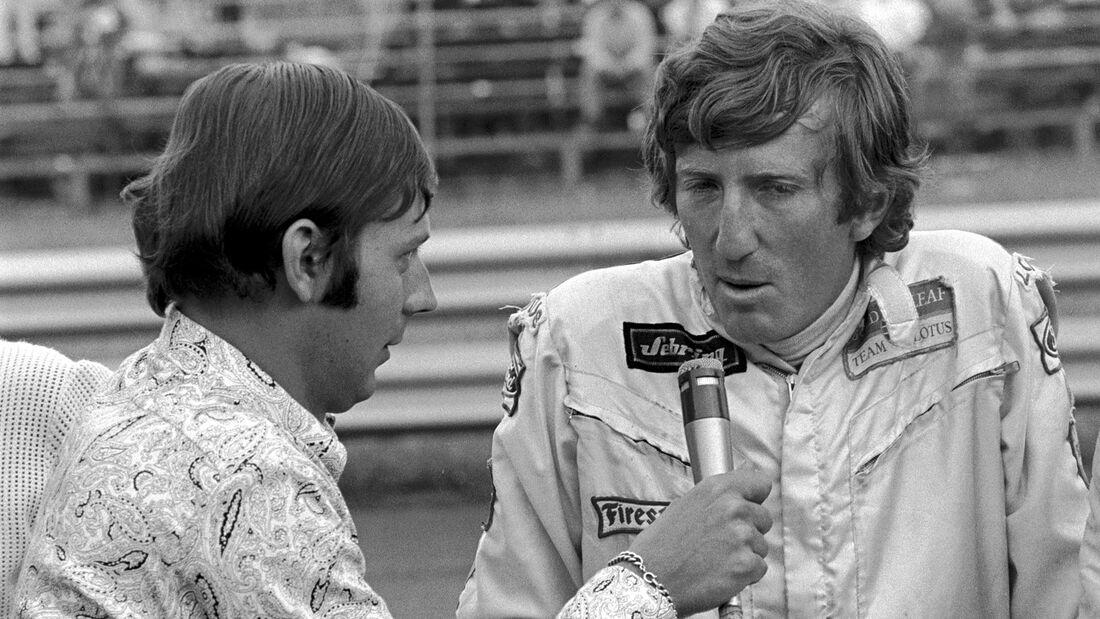 Jochen Rindt - Heinz Prüller - Österreichring 1970